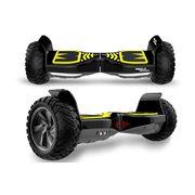 Mega Motion Hoverboard bluetooth 8.5pouces tout terrain, gyropode noir avec Application + Sac de transport de haute qualité