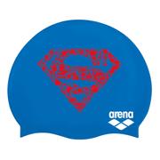 Bonnet de natation Arena Super Hero bleu rouge