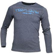 Tee Shirt Garçon Teddy Smith Ticlass3 Ml Jr 61002684d 125a Melange Black