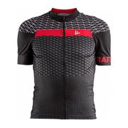 Craft - Route Hommes Maillot de vélo (noir/rouge)