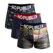 No Publik - Lot De 3 Boxers Microfibre Enfant Adventure