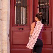 Housse pour Tapis de Yoga - Rose