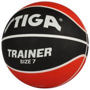 BALLON DE BASKET-BALL  Ballon de basket-ball Trainer - Rouge et noir - Taille 7