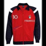 Veste enfant France 2 étoiles  Taille 4 ans - 4 ans rouge