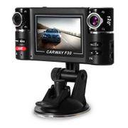 Dashcam camera dvr autoF30 2,7 pouces Enregistreur de Voiture DVR Caméra Video HD Double Tableau de Bord