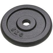 vidaXL Plaque de poids 4 pcs 2 x 10 kg + 2 x 5 kg Fonte