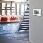 Horloge murale numérique  (Blanc)