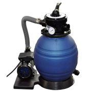 vidaXL Filtre à sable pour piscine 400 W