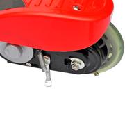 vidaXL Trottinette électrique rouge et noire 120W