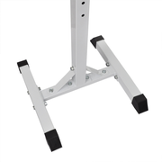 vidaXL Support barres haltères longs musculation