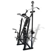 Fitness  VIDAXL vidaXL Banc de musculation - Appareil à charge guidée
