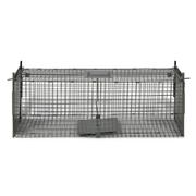 vidaXL Cage piège pour animaux deux entrées anti rongeur