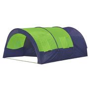 vidaXL Tente dôme familiale 6 places bleue et verte