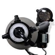 vidaXL Filtre à sable avec pompe de piscine 35 cm