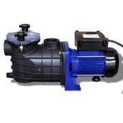 vidaXL Pompe filtration piscine 500 W Bleu