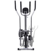 vidaXL Vélo elliptique 4 poignées