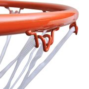 Basket ball  VIDAXL vidaXL Cerceau Panier Basket Ball avec Filet Orange
