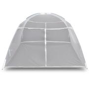Camping  VIDAXL vidaXL Moustiquaire Blanc de Voyage 2 Portes 200 x 150 145 cm