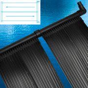 vidaXL 2 pièces Panneau solaire piscine pour chauffage