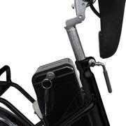 vidaXL Vélo électrique pliant en alliage d'aluminium et batterie lithium-ion