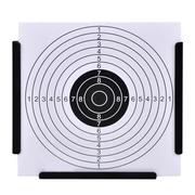 Tir à l'arc  VIDAXL vidaXL Porte cible récepteur de plombs + 100 cibles en papier 14 cm