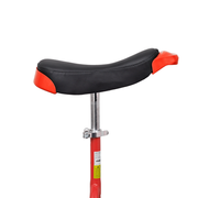 vidaXL Monocycle ajustable rouge