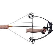 vidaXL Arc à poulies triangulaire