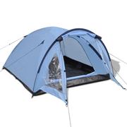vidaXL Tente pour 3 personnes Bleu