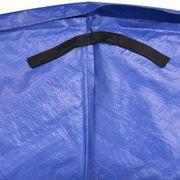 vidaXL Coussin de sécurité PE Bleu trampoline rond 12 pieds/3,66 m