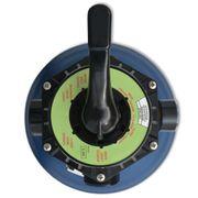 vidaXL Filtre à sable de piscine 18 pouces / 460 mm Bleu rond