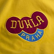 Dukla Prague exterieur 1960's Short Sleeve Retro Maillot 100% cotton