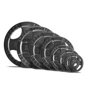 Disques Body-Solid olympiques 4 Grip en fonte 20 kg