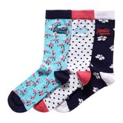 Superdry Flamingo Sock Triple Pack