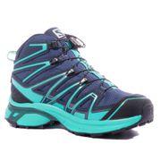 X-Chase MID GTX Femme Chaussures Randonnée Bleu Salomon