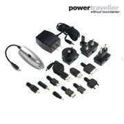 Chargeur à batterie + kit alimentation secteur POWERMONKEY CLASSIC gris