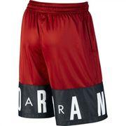 Short de Basketball Jordan Classic Blockout Rouge et noir pour Homme taille - S
