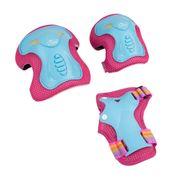 Hudora Skate Wonders - Set De Protection - Taille M - Turquoise/Rose