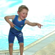 Combinaison néoprène enfant Mayo Parasol Combinaison Bleue néoprène sans manches