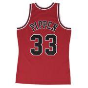 Maillot NBA swingman Scottie Pippen Chicago Bulls Hardwood Classics Mitchell & ness Rouge taille - M