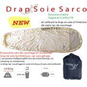 DRAP de SOIE - sac d'appoint pour sacs de couchage