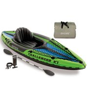 Intex Kayak gonflable Challenger K1 274 x 76 x 33 cm 68305NP