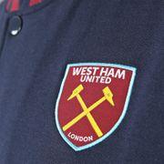 West Ham United FC officiel - Veste de baseball style université - rétro/thème football - homme