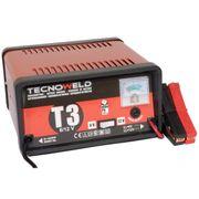 Chargeur de batterie TEC 3- 12V - Chargeur batterie voiture jusqu'à 100 Ah-Protection thermique et inversion de polarité