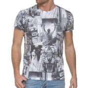 T shirt Imprimé Col Rond