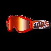 MASQUE 100% STRATA FIRE RED ECRAN MIROIR ROUGE