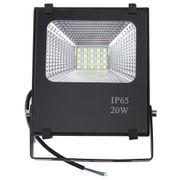 Projecteur luminaire HD20W IP65 Imperméabilisent le Projecteur de LED, 2700-6500K SMD-5054 Lampe, AC 85-265V(Lumière Blanche)