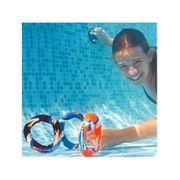 3 anneaux lestés piscine