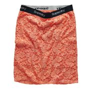 SUPERDRY Lacy Mini Jupe Femme
