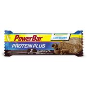 Barre protéique Powerbar Protein Plus Low Sugar saveur chocolat (30 unités)