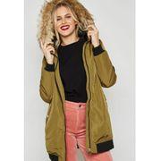 Parka Femme Vero Moda Dicte Fake Fur 3/4 Jacket Olive